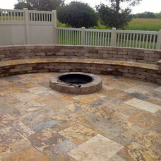 Rustic Patio by Springhetti Custom Outdoor Living