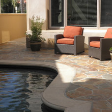 Contemporary Patio by Tuscany Builders