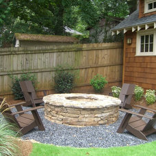 Craftsman Patio by Cynthia Karegeannes, Registered Architect