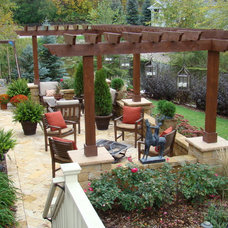 Traditional Patio by Superior Lawn and Landscape