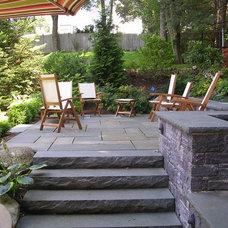 Traditional Patio by Elliott Brundage Landscape Design