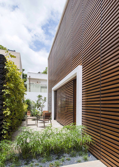 Contemporary Patio by Architecture Paradigm