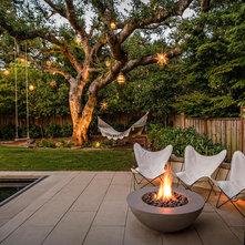 Outdoor Hanging Tree Lanterns An