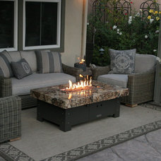 Eclectic Patio by Cooke Furniture