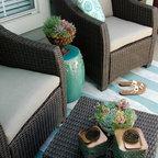 Balcony Makeover Contemporary Patio Orange County