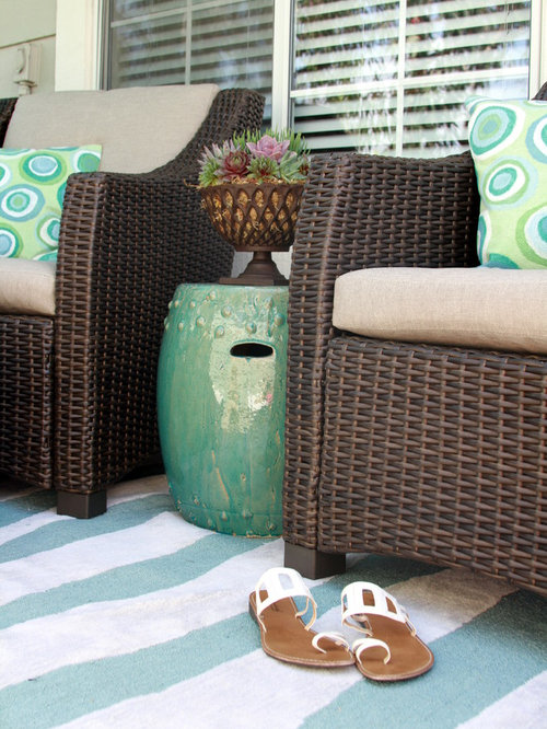 Trendy patio photo in Orange County & Ceramic Garden Stool | Houzz islam-shia.org