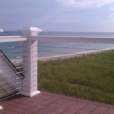 Contemporary Patio by Stainless Cable Railing