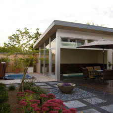 Contemporary Patio by Sortun-Vos Architects, P.S.