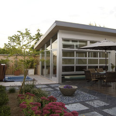 modern patio Ballard Pool House