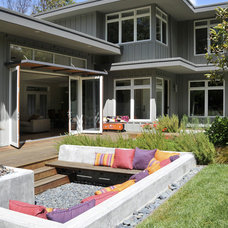 contemporary patio by Ana Williamson Architect