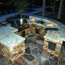 Modern Patio by AAA Landscape Specialists, Inc.