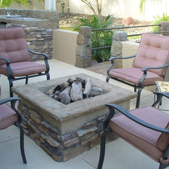 contemporary patio by Jeff Christ of Outdoor Creations