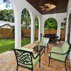 Mediterranean Patio by Javic Homes