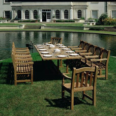 Traditional Outdoor Tables by authenTEAK Outdoor Living