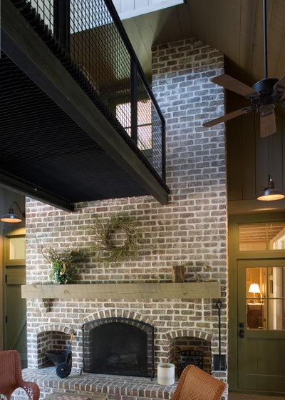 Rustic Patio by Historical Concepts