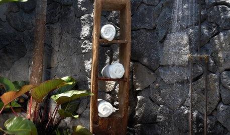 Utomhusdusch: Alla kan ha lyxig spakänsla i trädgården