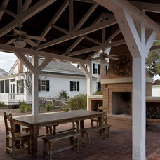 Traditional Patio by Volz O'Connell Hutson