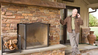 Bay Area Outdoor Fireplace