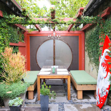 Asian Patio by Screaming Egg Designs