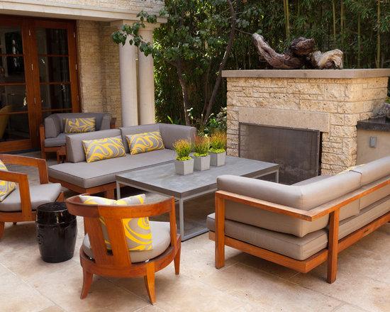 Modern Wood Patio Furniture modern wood furniture | houzz