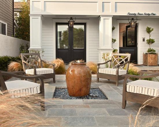 front yard patio design ideas, remodels & photos | houzz - Front Yard Patio Designs