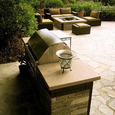 Modern Patio by Gilson Group Landscape Design