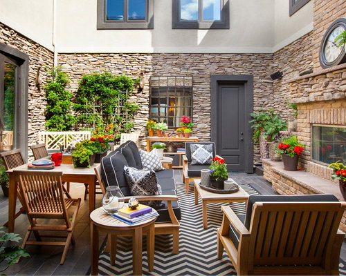 Outdoor Courtyard Ideas, Pictures, Remodel and Decor