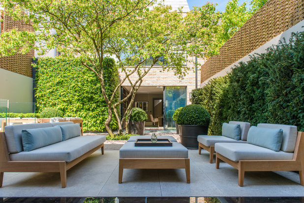 Contemporary Patio by Nash Baker Architects