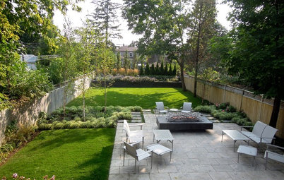 Patio of the Week: From 'Bowling Lane' Lawn to Entertaining Space
