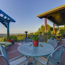 Eclectic Patio by Agave Custom Homes