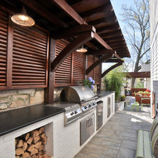 Traditional Patio by Durden Architecture