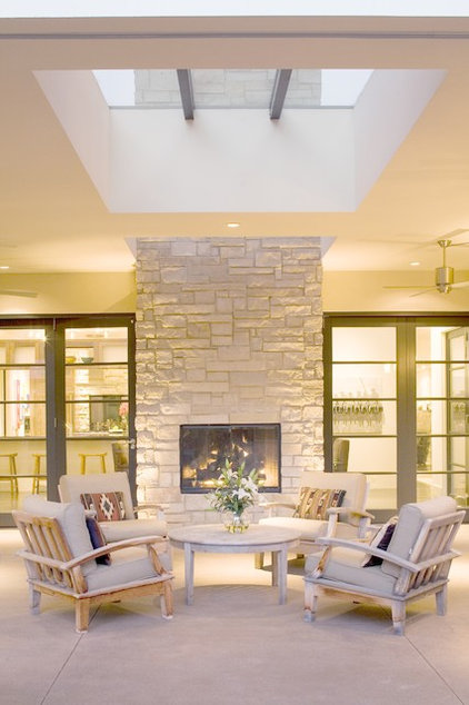 Contemporary Patio by Nest Architectural Design, Inc.