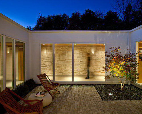 enclosed courtyard photos - Courtyard Ideas Design