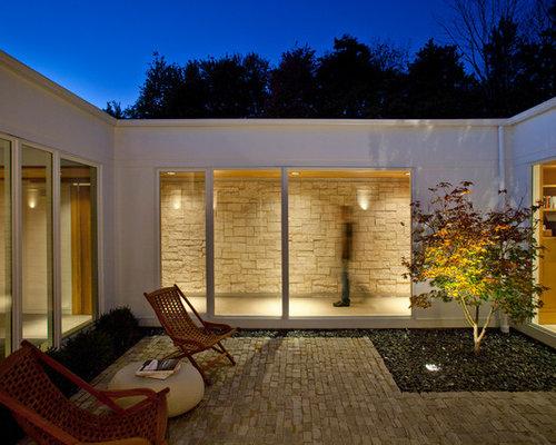 enclosed courtyard photos - Courtyard Ideas Design