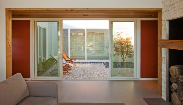 Moderne Terrasse et Patio by Drawing Dept