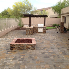 Contemporary Patio by Desert Crest, LLC