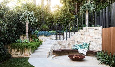 Garden of the Week: A Tropical-Inspired Entertainer's Garden