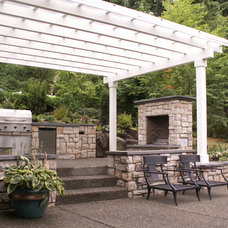 Traditional Patio by Environmental Construction, Inc.