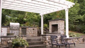 Bellevue Outdoor Kitchen by Environmental Construction, Kirkland, WA