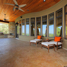 Contemporary Patio by Design Visions of Austin