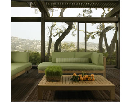 contemporary patio by Access Decor