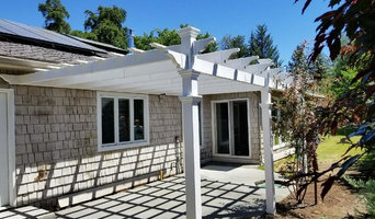 Bend Oregon, Pergola & Concrete