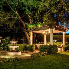 Mediterranean Landscape by Casa Smith Designs, LLC