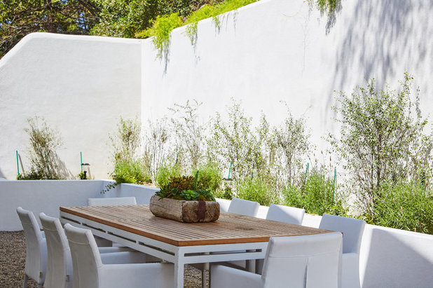 Transitional Patio by Dan Arnold Photo