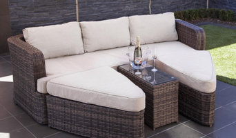 Bennington Outdoor Rattan Sun Bed Lounge