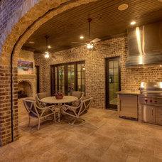 Traditional Patio by Bentley Premier Builders