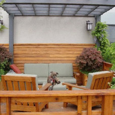 Traditional Patio by BergDesign Architects