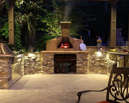 Foto e idee per patii e portici patio o portico american for Idee patio per case in stile ranch