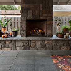 Traditional Patio by Paradise Restored Landscaping & Exterior Design