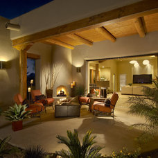 Contemporary Patio by AB Design Elements, LLC